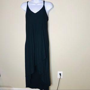 NWT Love, Fire Black Maxi Dress | L